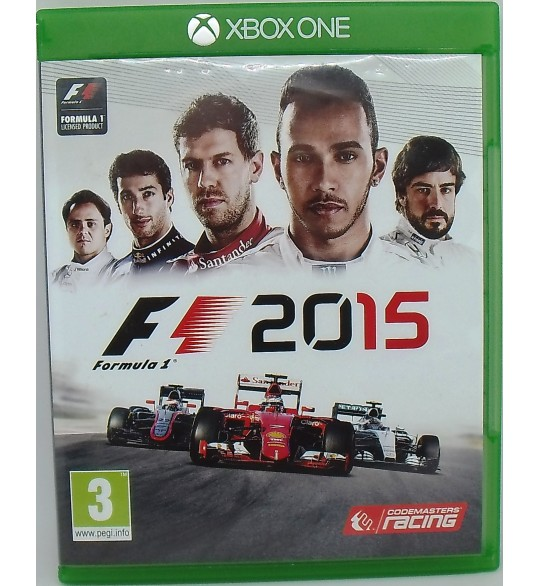 F1 2015 sur Xbox One sans Notice  Games and Toys