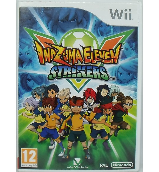 Inazuma Eleven : Strikers sur Nintendo Wii avec Notice  Games and Toys