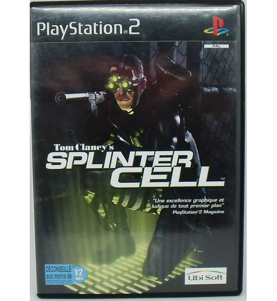 Splinter Cell sur Playstation 2 PS2 avec Notice MA84 Games And Toys