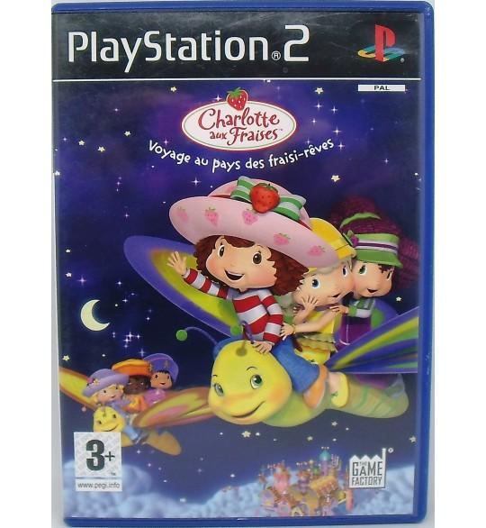 Charlotte aux Fraises - Voyage au Pays des Fraisi-Rêve sur PS2 avec Notice MA85  Games And Toys