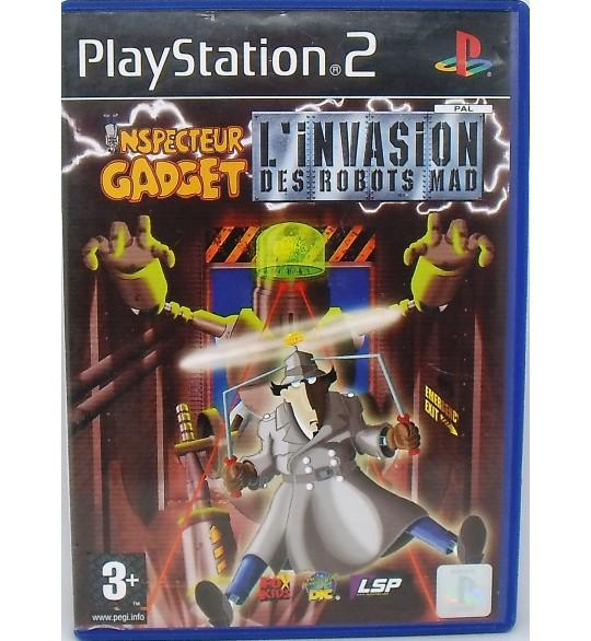 Inspecteur Gadget : L'invasion des Robots Mad sur PS2 avec Notice MA90 Games And Toys