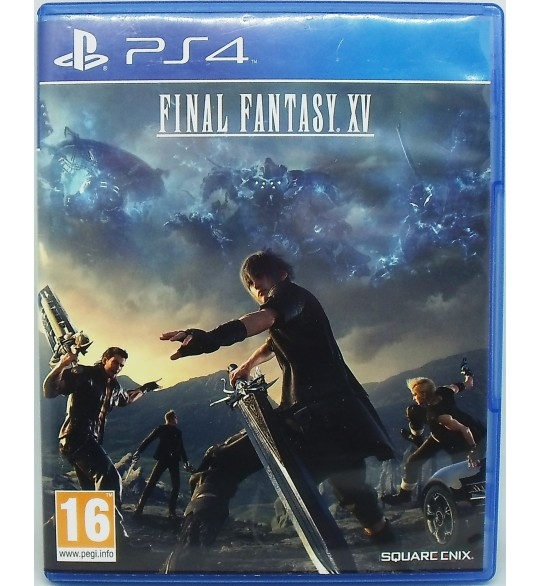 Final Fantasy XV sur Playstation 4 sans Notice  A1 Games and Toys