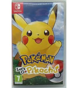 Pokémon : Let's Go, Pikachu sur Nintendo Switch sans Notice AG35 Games and Toys