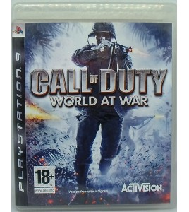 Call of Duty : World at War sur Playstation 3 PS3 avec Notice Games And Toys