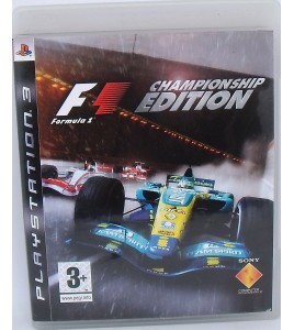 Formula One sur Playstation 3 PS3 sans Notice  Games and Toys