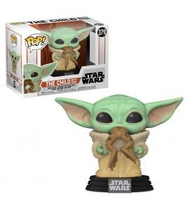 Star Wars The Mandalorian POP! TV Vinyl Figurine The Child w/ Frog 9 cm POP 379