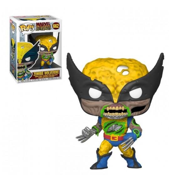 Marvel Pop Vinyl 662 Zombie Wolverine 9 cm