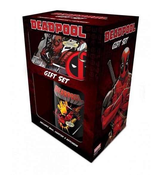Deadpool coffret cadeau Merc With a Mouth