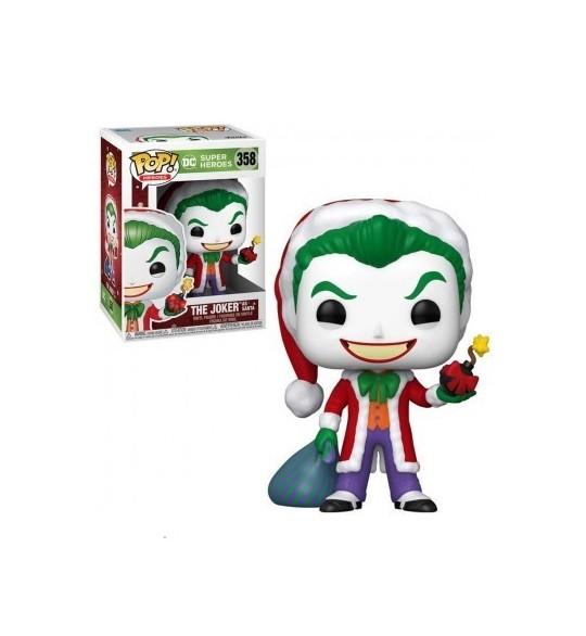 DC Comics Pop Vinyl 358 The Joker as Santa 9 cm