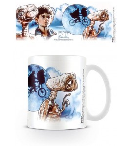 E.T. l´extra-terrestre mug ET & Elliott Illustration