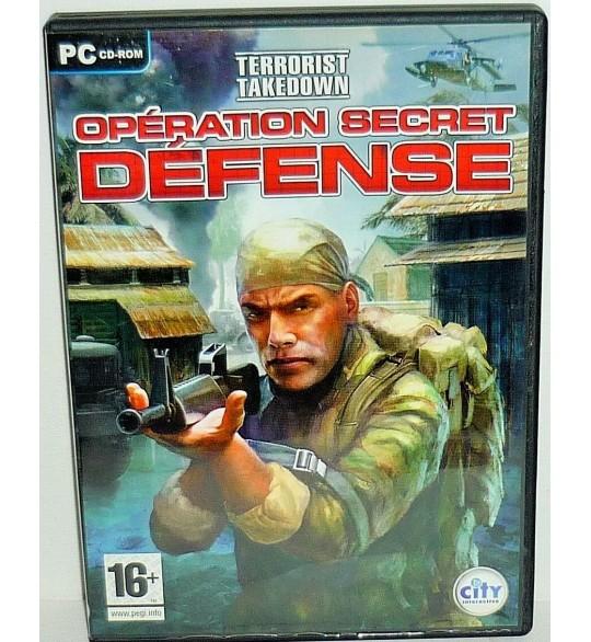 Terrorist Takedown Opération Secret Défense Jeu PC Avec Notice PC09