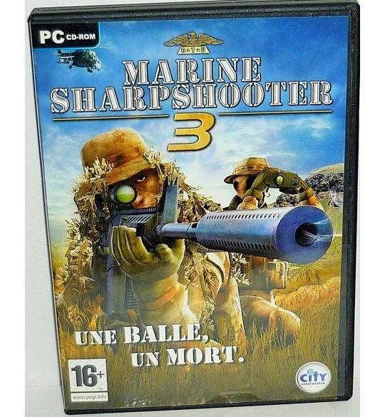 Marine Sharpshooter 3 Jeu PC Avec Notice PC11 Games And Toys