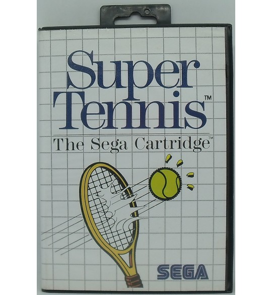 Super Tennis Jeu Master System Sans Notice MS01 Games And Toys