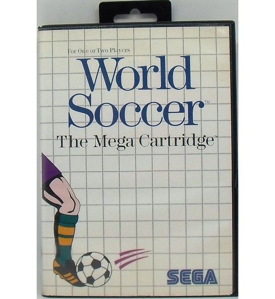 World Soccer Jeu Master System Sans Notice MS02 Games And Toys