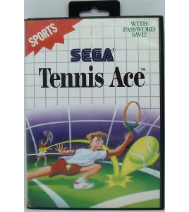 Tennis Ace Jeu Master System Sans Notice MS04 Games And Toys