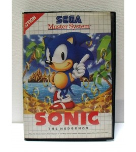 Sonic The Hedgehog Jeu Master System Avec Notice MS09 Games And Toys