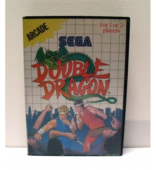 Double Dragon Jeu Master System Sans Notice MS10 Games And Toys