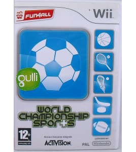 World Championship Sports Jeu Nintendo Wii avec Notice  Games and Toys