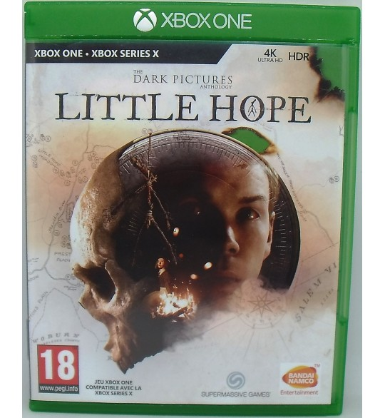 The Dark Pictures: Little Hope sur Xbox One sans Notice  Games and Toys