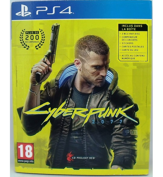 Cyberpunk 2077 Edition D1 sur Playstation 4 sans Notice  Games and Toys