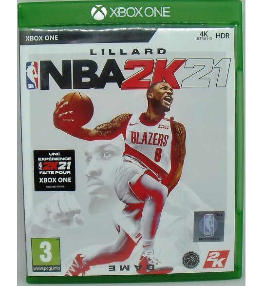 NBA 2K21 sur Xbox One sans Notice  Games and Toys