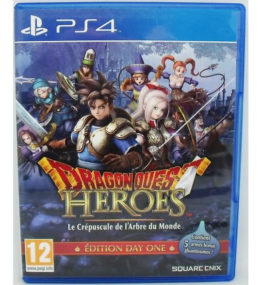 Dragon Quest Heroes : le crépuscule de l'arbre du monde sur PS4 sans Notice