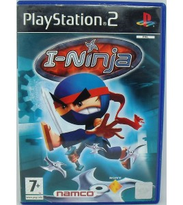 I-Ninja Jeu Playstation 2 PS2 avec Notice  Games And Toys