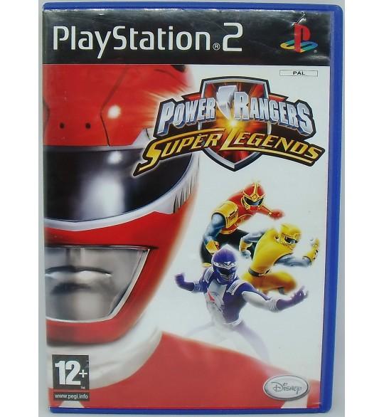 Power Rangers Super Legends Jeu Playstation 2 PS2 sans Notice  Games and Toys