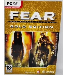 FEAR Gold Edition  Jeu PC Avec Notice PC21 Games And Toys