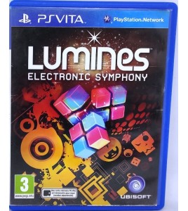Lumines : electronic symphony Jeu PS Vita sans Notice  Games and Toys