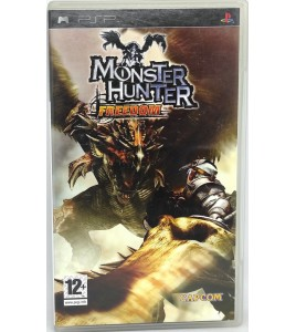 Monster Hunter Freedom Jeu PSP  avec Notice Games And Toys