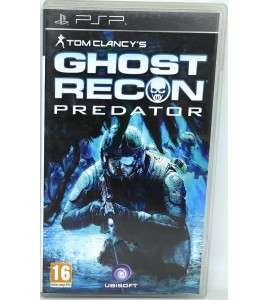 Ghost recon predator Jeu PSP  avec Notice Games And Toys