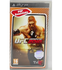 UFC Undisputed 2010 Jeu PSP  avec Notice Games And Toys