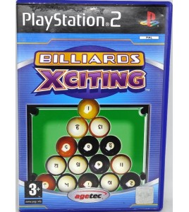 Billard Xciting Jeu Playstation 2 PS2 avec Notice Games And Toys