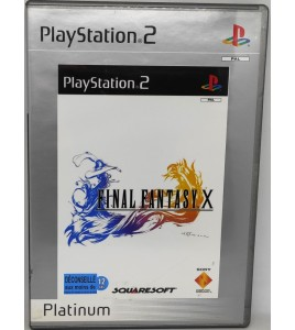 Final Fantasy X - Platinum Jeu Playstation 2 PS2 avec Notice Games And Toys