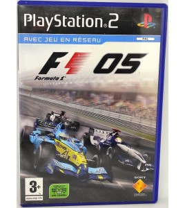Formula One 2005 Jeu Playstation 2 PS2 avec Notice Games And Toys