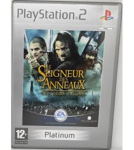 Le Seigneur des Anneaux : Les Deux Tours - Platinum Jeu PS2 avec Notice