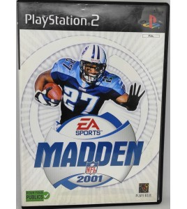 Madden NFL 2001 Jeu Playstation 2 PS2 avec Notice Games And Toys