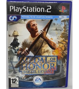 Medal of Honor : Soleil Levant Jeu Playstation 2 PS2 avec Notice Games And Toys
