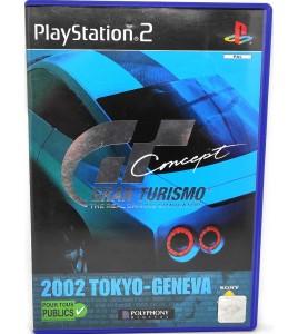 Gran Turismo Concept 2002 Tokyo-Geneva Jeu PS2 sans Notice  Games and Toys