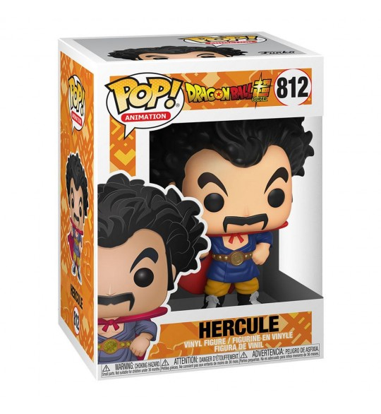 Dragon Ball Super Vinyl Pop 812 Hercule 9 cm