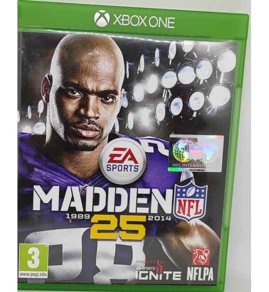 Madden NFL 25 Jeu Xbox One sans Notice  Games and Toys