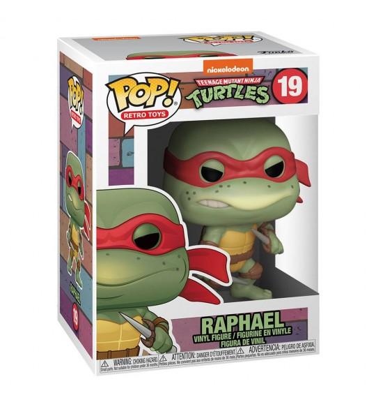 Les Tortues Ninja Pop 19 Raphael 9 cm