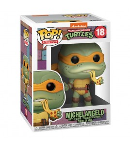Les Tortues Ninja Pop 18 Michelangelo 9 cm