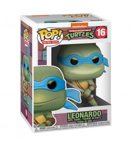 Les Tortues Ninja Pop 16 Leonardo 9 cm