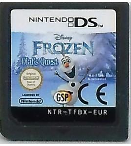 La Reine Des Neiges La Quête d'Olaf Jeu Nintendo DS & 3DS sans Notice L150