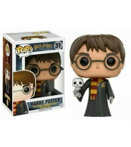 Harry Potter Pop 31 Harry Avec Hedwig 9 cm