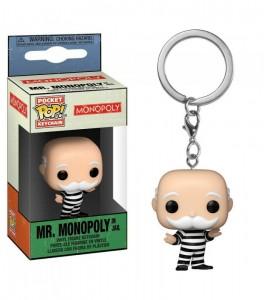 Monopoly porte-clés Pocket POP! Mr Monopoly 4 cm