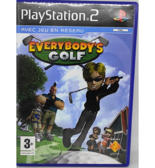 Everybody's Golf Jeu Playstation 2 PS2 avec Notice Games And Toys