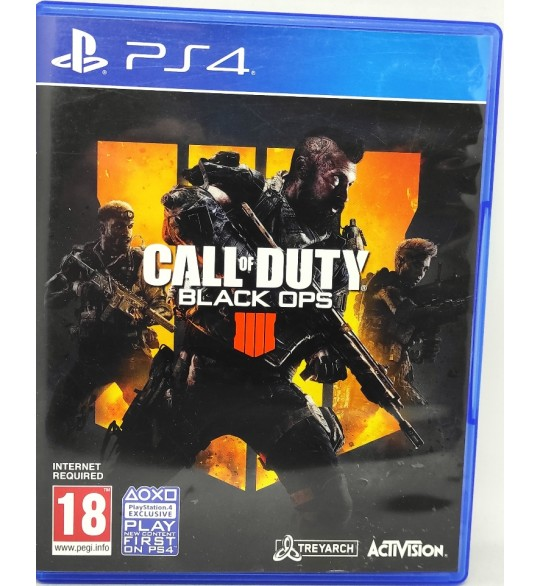 Call of Duty: Black Ops 4  Jeu Playstation 4 PS4 sans Notice  Games and Toys